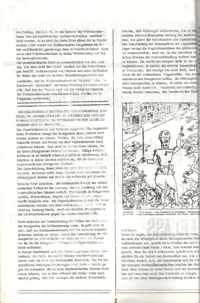 Schulkampf _ Organ der KSF, Göttingen, Extra zum WKE [Juni 1972], Seite 2