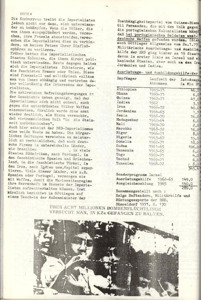 Schulkampf _ Organ der KSF, Göttingen, Nr. 4 [1973], Seite 4