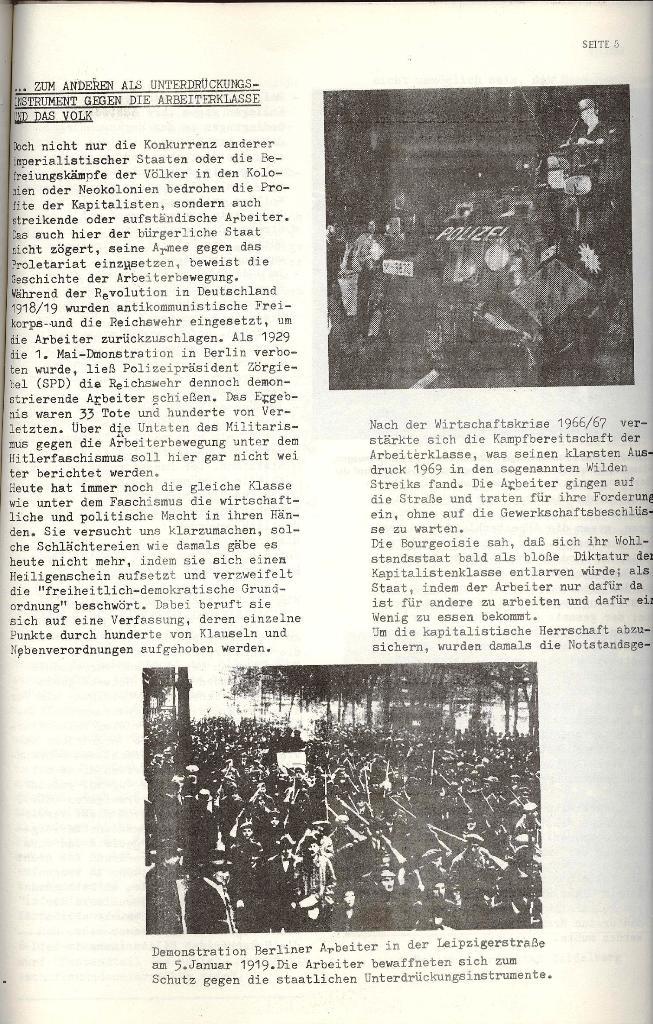 Schulkampf _ Organ der KSF, Göttingen, Nr. 4 [1973], Seite 5