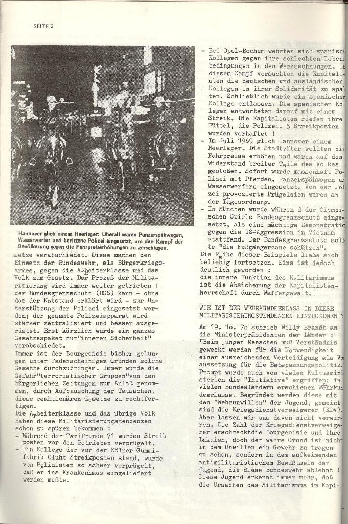 Schulkampf _ Organ der KSF, Göttingen, Nr. 4 [1973], Seite 6