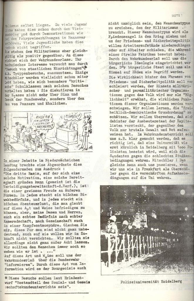 Schulkampf _ Organ der KSF, Göttingen, Nr. 4 [1973], Seite 7