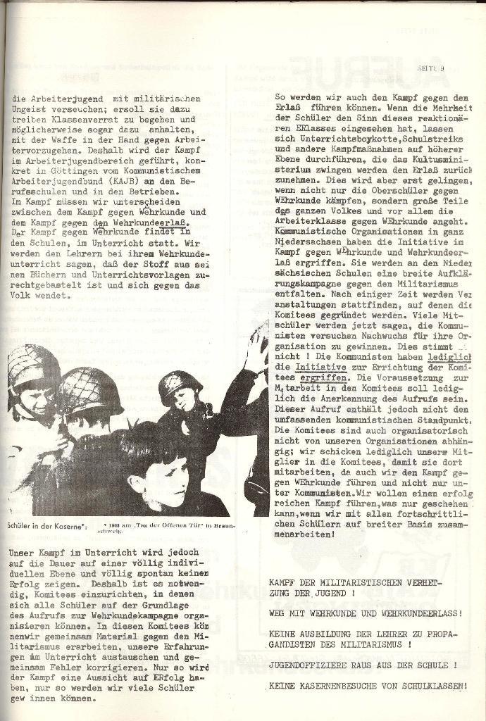 Schulkampf _ Organ der KSF, Göttingen, Nr. 4 [1973], Seite 9
