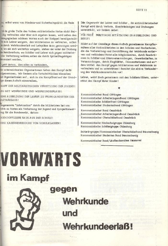 Schulkampf _ Organ der KSF, Göttingen, Nr. 4 [1973], Seite 11