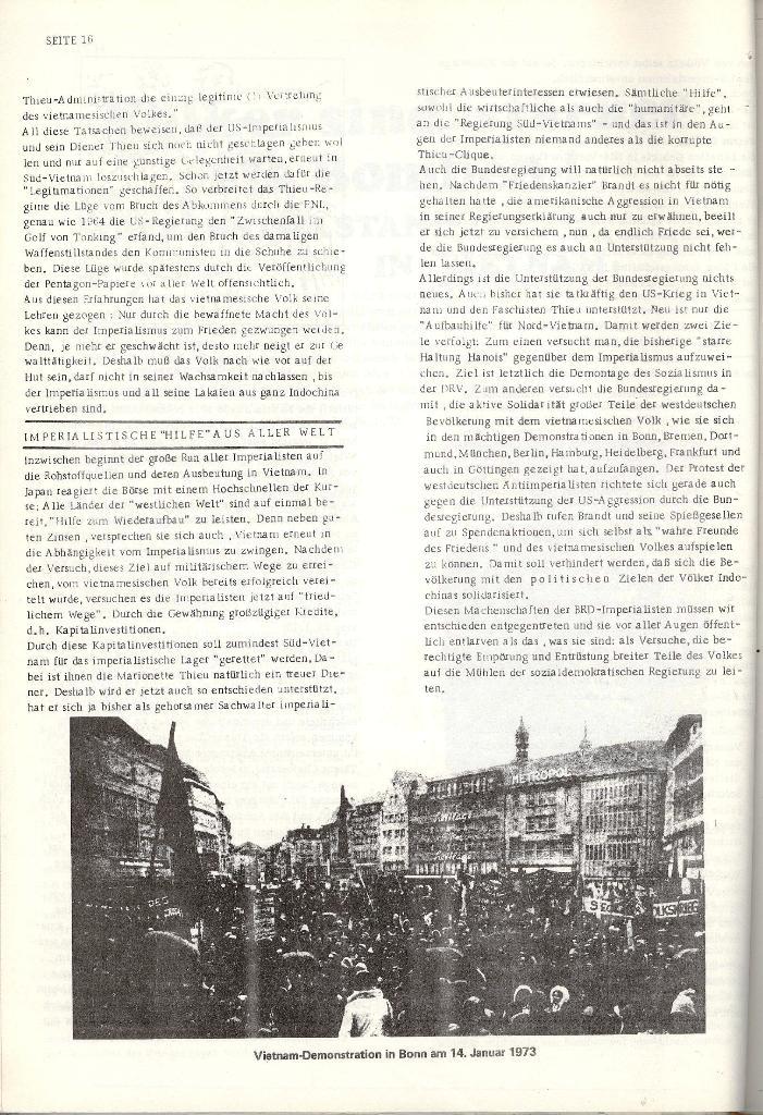 Schulkampf _ Organ der KSF, Göttingen, Nr. 4 [1973], Seite 16