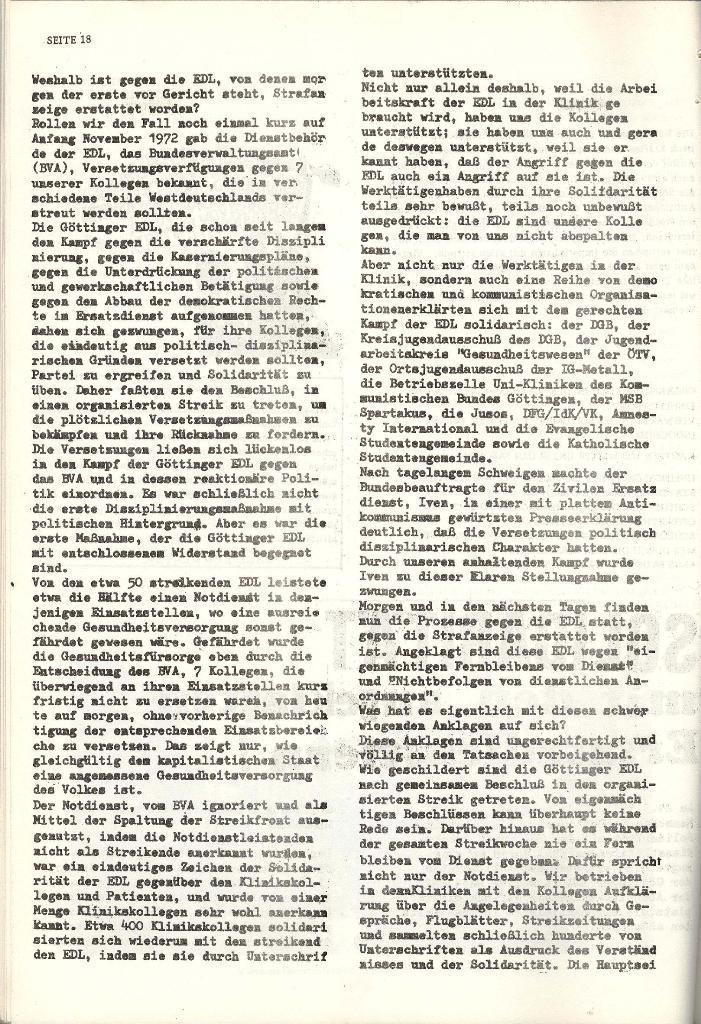 Schulkampf _ Organ der KSF, Göttingen, Nr. 4 [1973], Seite 18