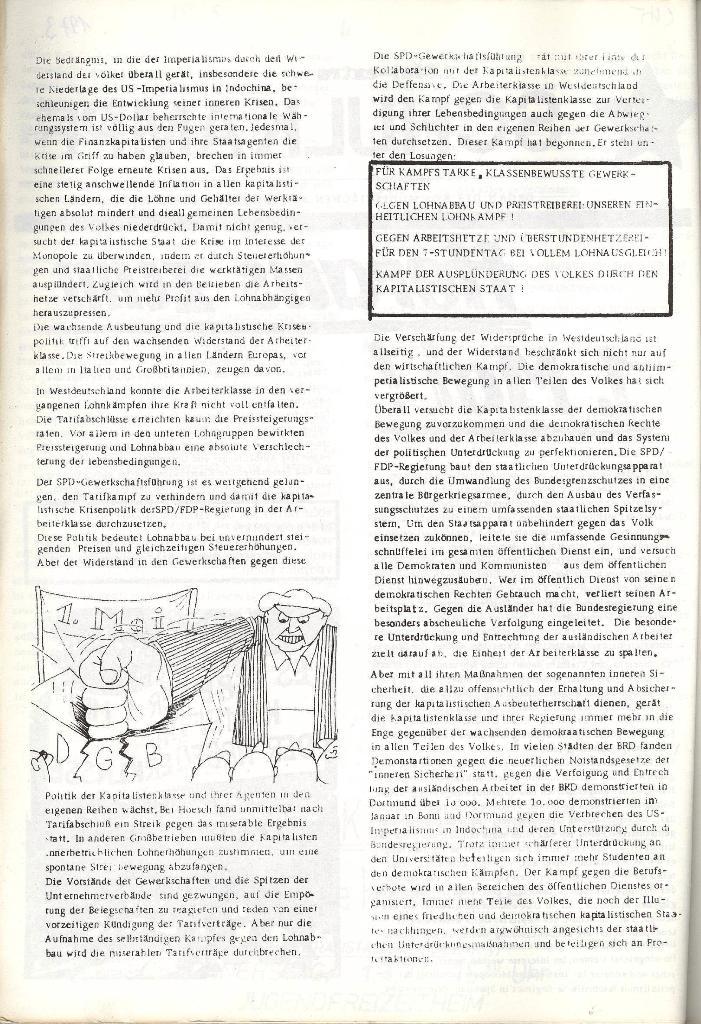 Schulkampf _ Organ der KSF, Göttingen, Extra zum 1. Mai [1973], Seite 2
