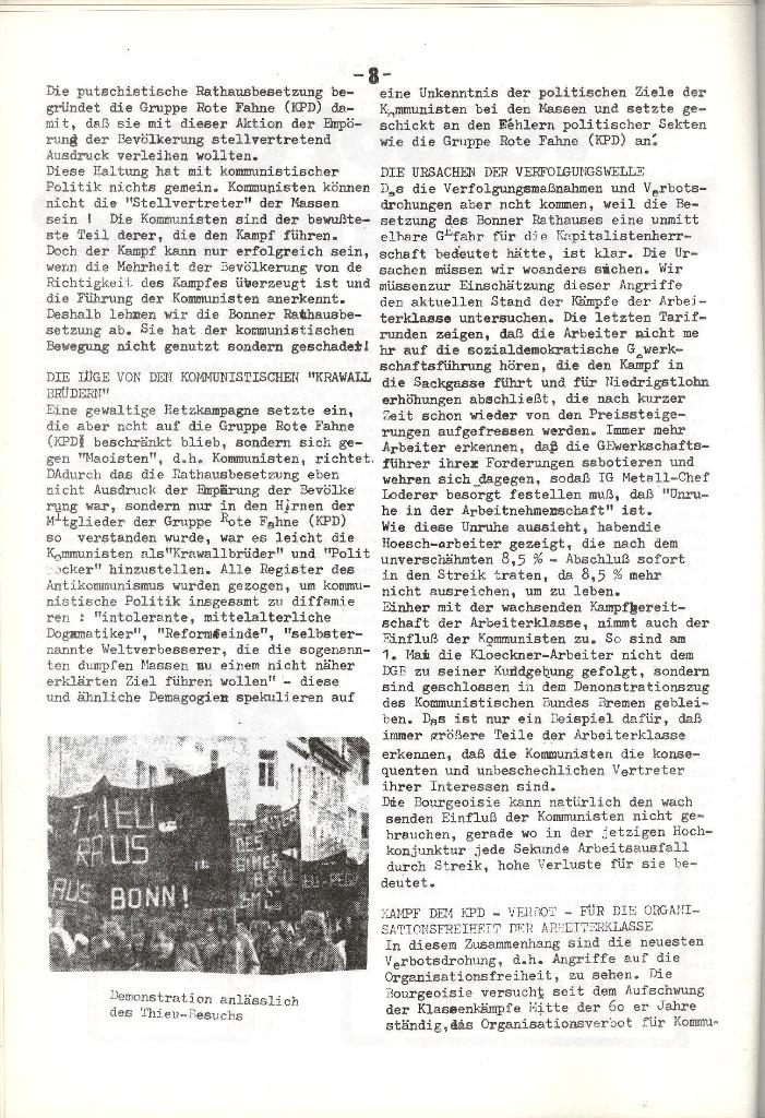 Schulkampf _ Organ der KSF, Göttingen, Nr. 5, 1973, Seite 8