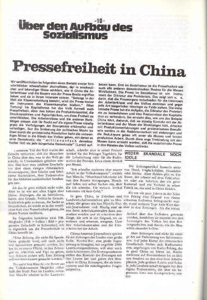 Schulkampf _ Organ der KSF, Göttingen, Nr. 5, 1973, Seite 10