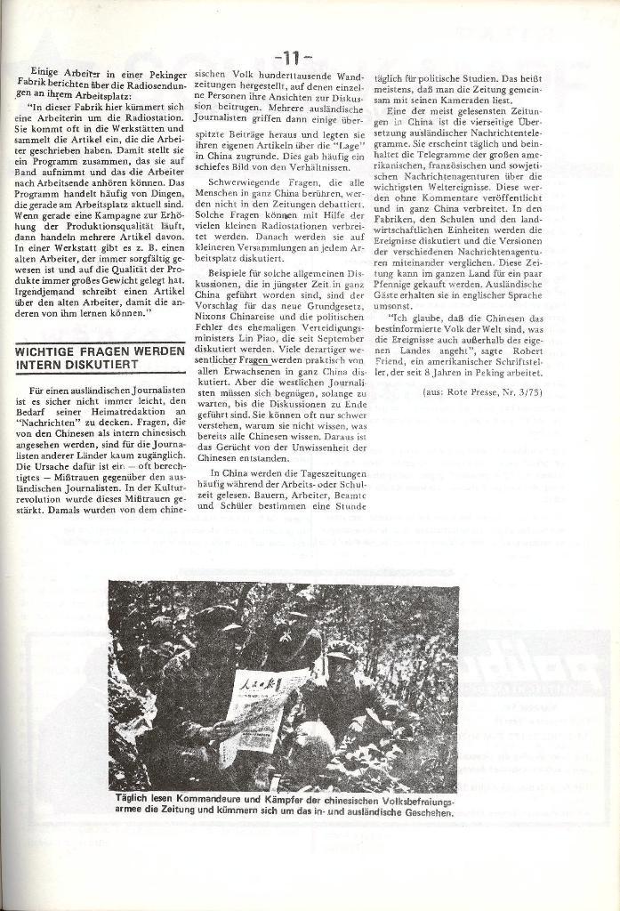 Schulkampf _ Organ der KSF, Göttingen, Nr. 5, 1973, Seite 11