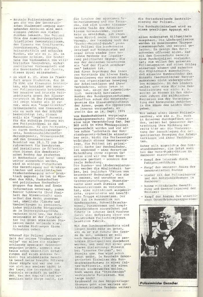 AStA_Info, Nr. 1, Polizei probt Notstand [1972], Seite 4