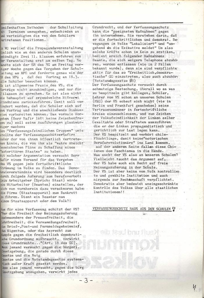 Schulkampf _ Organ der KSF, Göttingen, Extra, 11.3.74, Seite 3