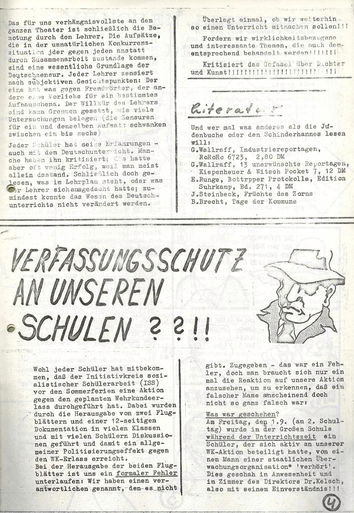 Wolfenbüttler Schülerpresse, Nr. 1, 1.10.1972, Seite 4