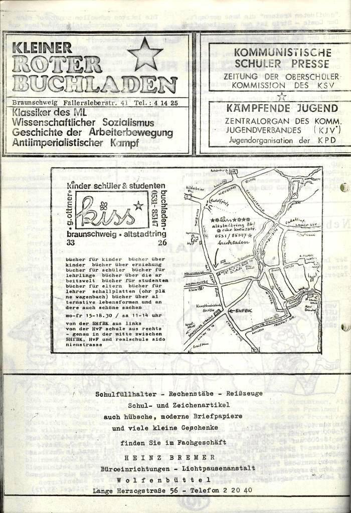 Wolfenbüttler Schülerpresse, Nr. 1, 1.10.1972, Seite 11