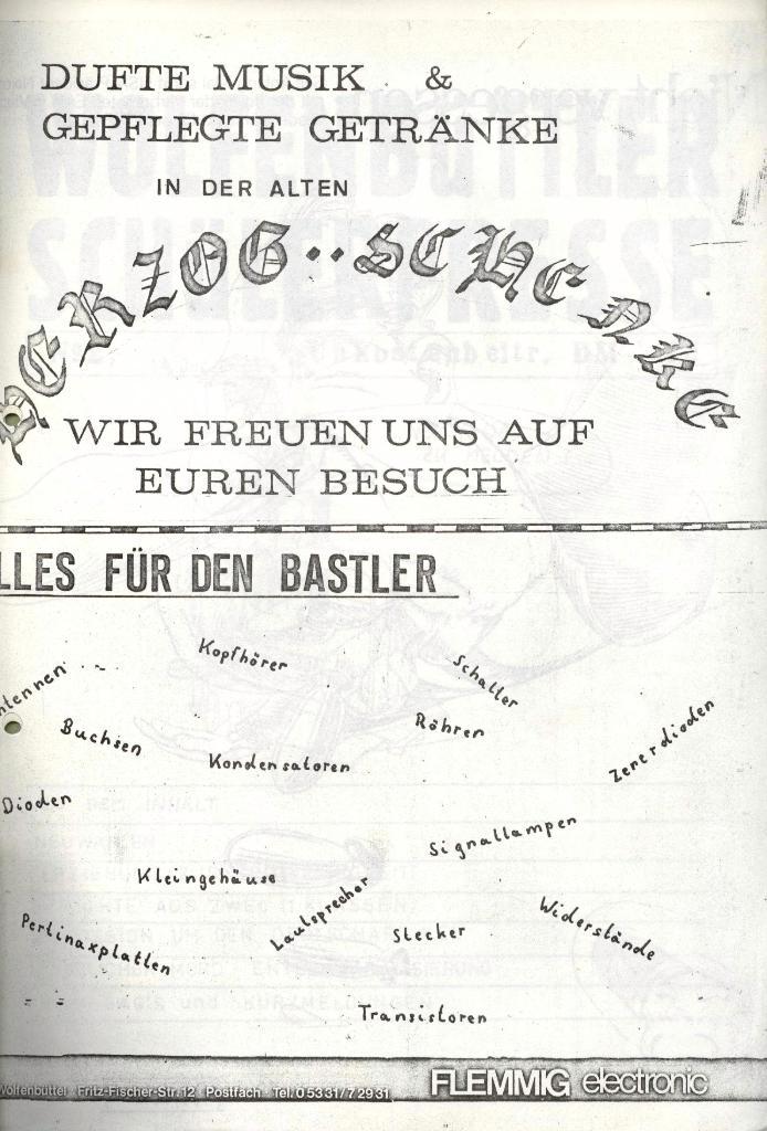 Wolfenbüttler Schülerpresse, Nr. 1, 1.10.1972, Seite 16