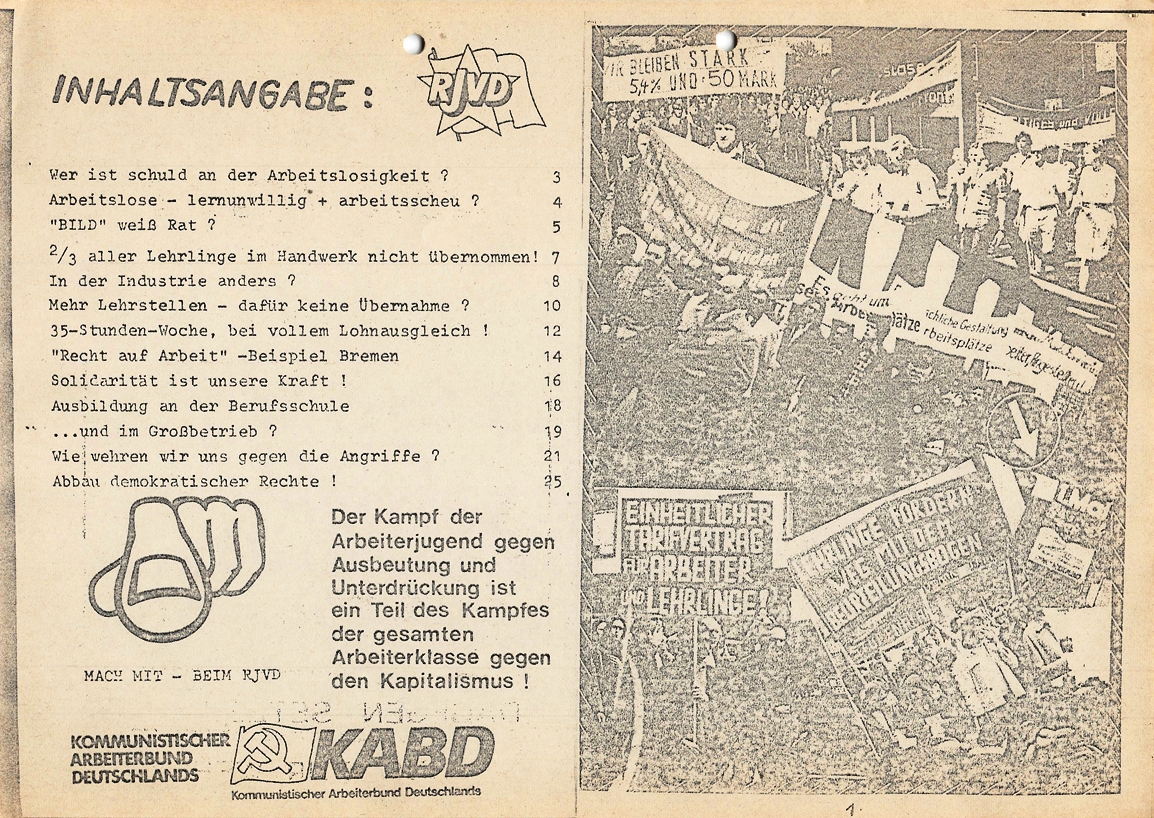 Hannover_RJVD_1977_Arbeitslosigkeit_02