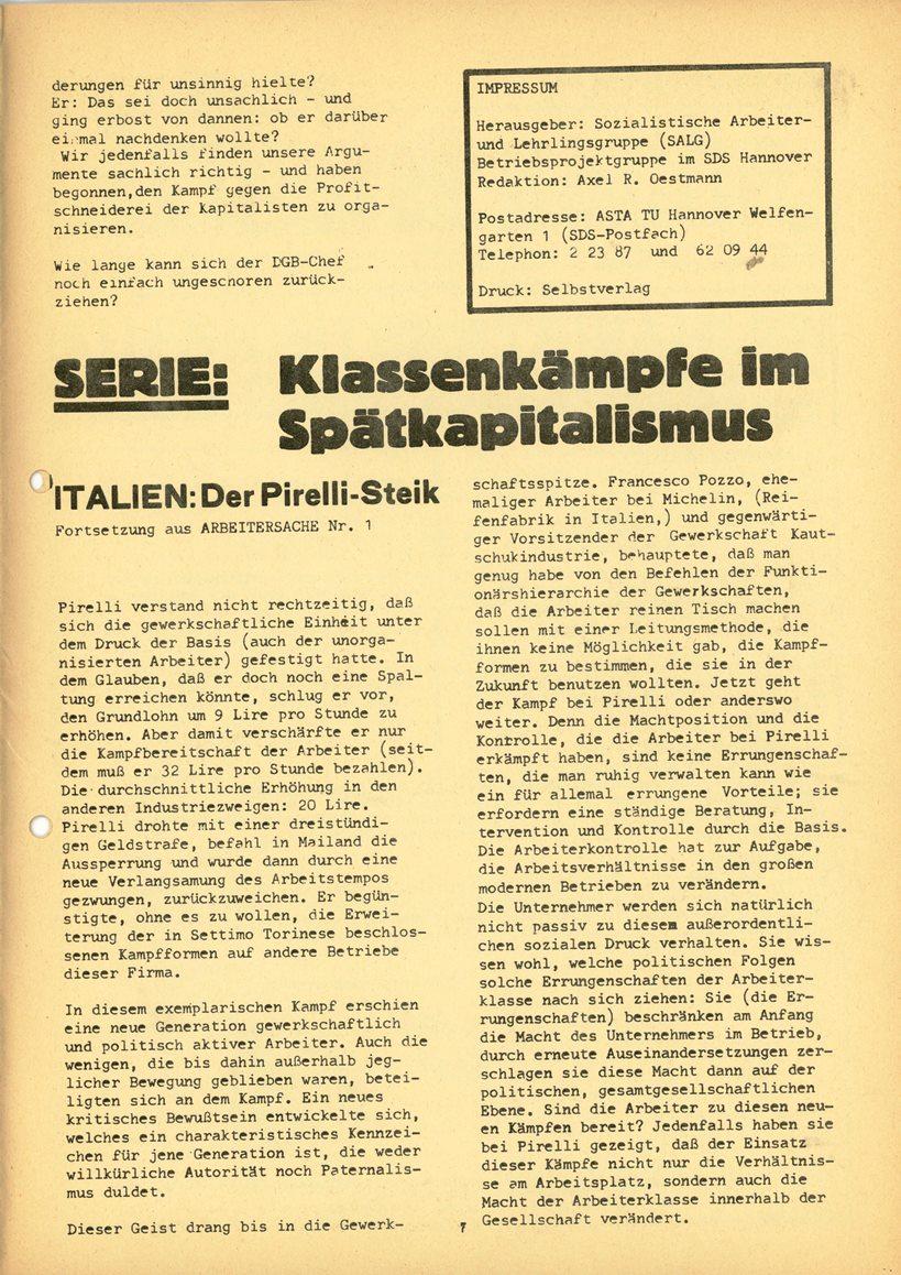 Hannover_SALG_Arbeitersache_1970_02_07