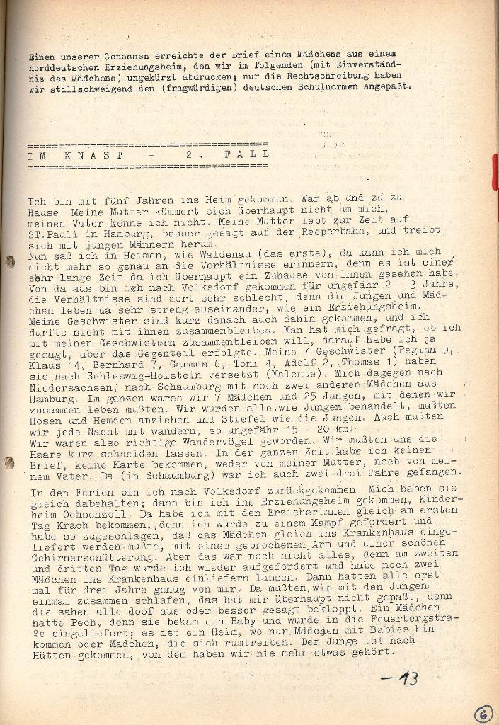 Rote Provinz, Nr. 6, Bad Gandersheim, Mai 1970, Seite 3