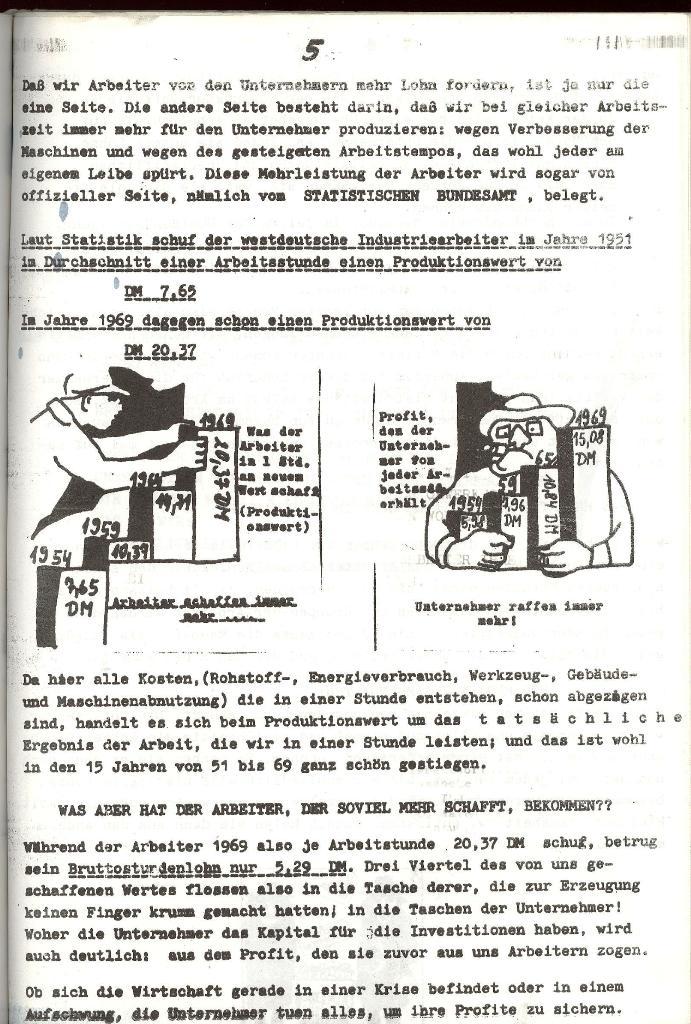 Landbote Ulifus , Sonderausgabe 1. Mai