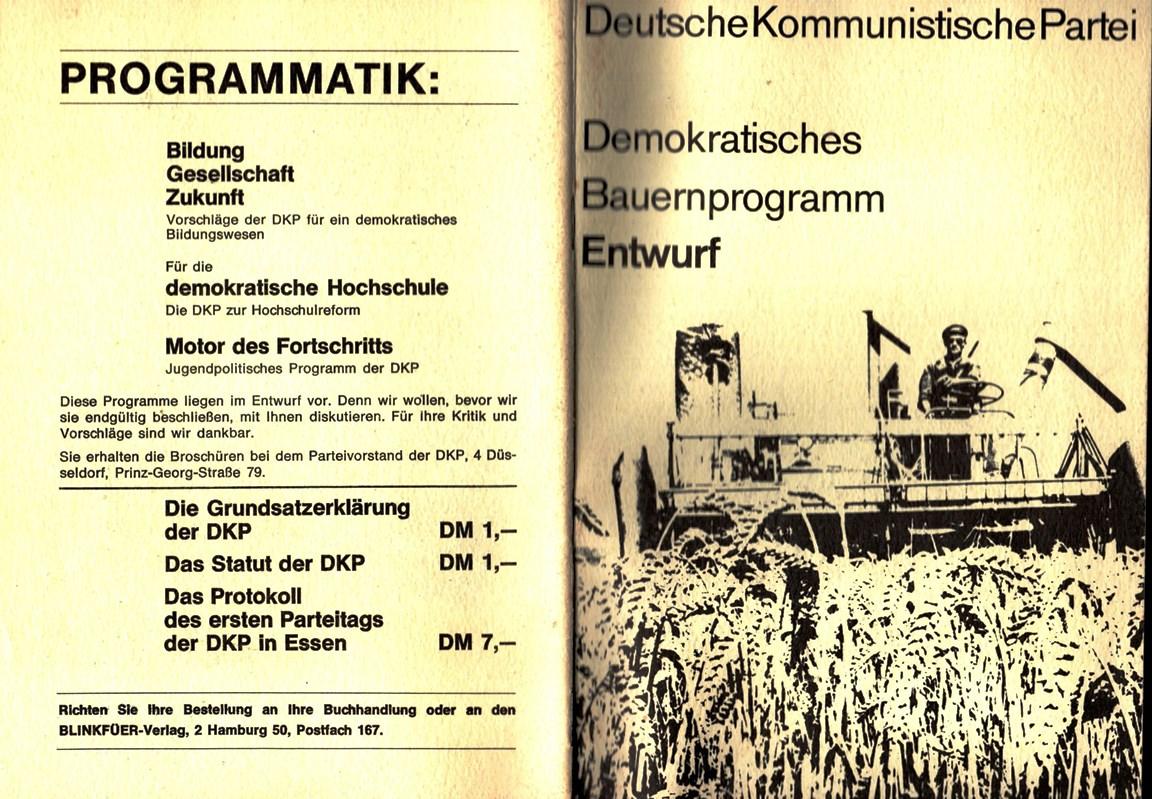 DKP_1970_Bauernprogramm_Entwurf_001