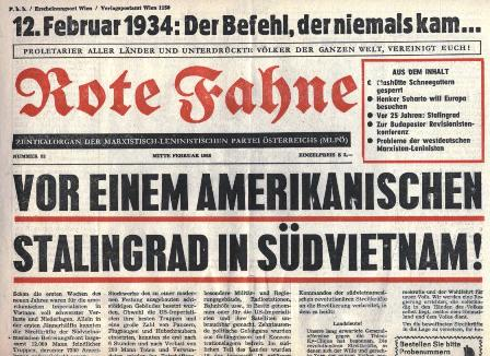 Rote Fahne, Nr. 93, Mitte Februar 1968