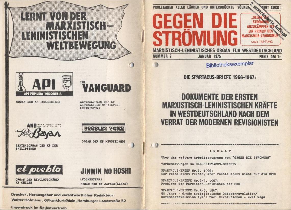 GDS: Die Spartacus_Briefe 1966_1967, Scan 1