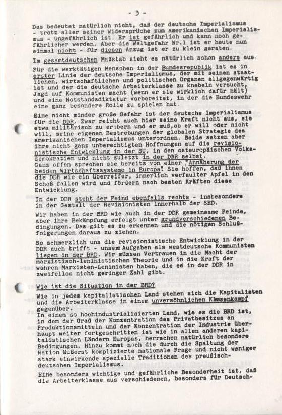 Spartacus_Brief, Nr. 1, November 1966, Seite 3