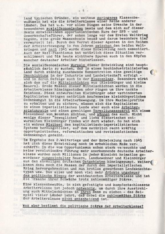 Spartacus_Brief, Nr. 1, November 1966, Seite 4