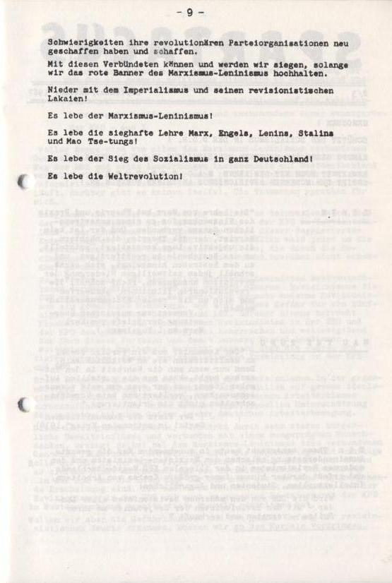 Spartacus_Brief, Nr. 1, November 1966, Seite 9