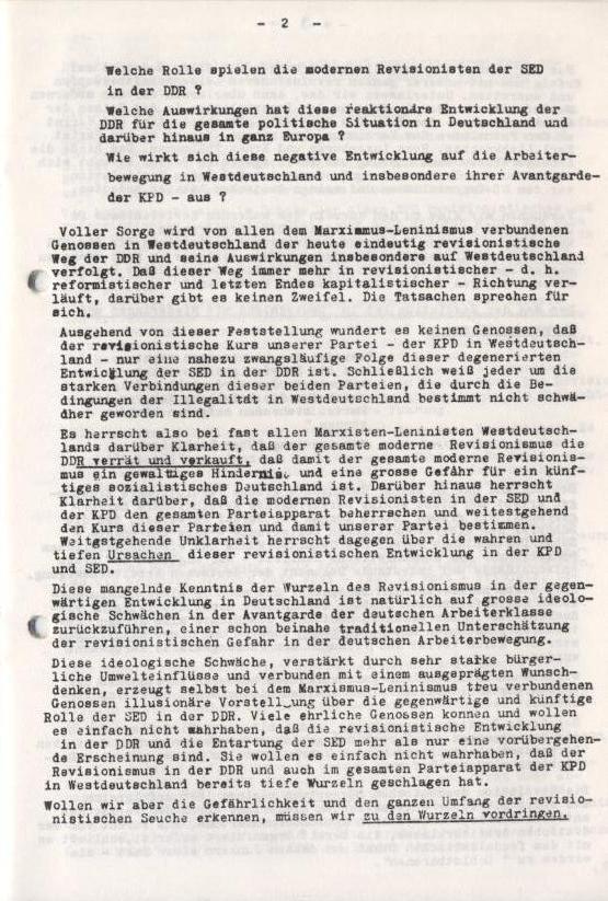 Spartacus_Brief, Nr. 2/3, Sept./Okt. 1967, Seite 2