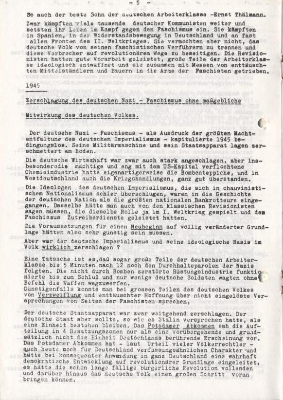 Spartacus_Brief, Nr. 2/3, Sept./Okt. 1967, Seite 5