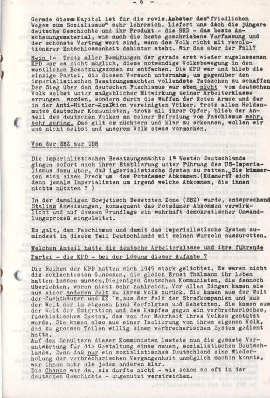 Spartacus_Brief, Nr. 2/3, Sept./Okt. 1967, Seite 6