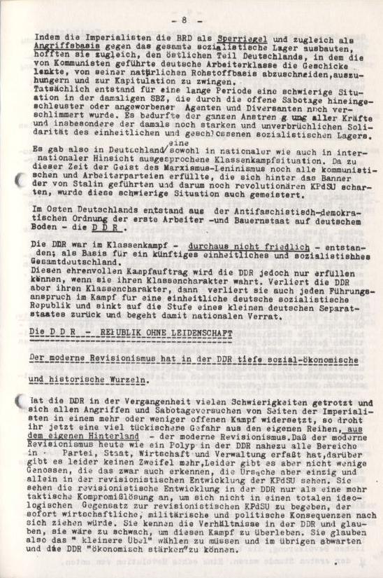 Spartacus_Brief, Nr. 2/3, Sept./Okt. 1967, Seite 8