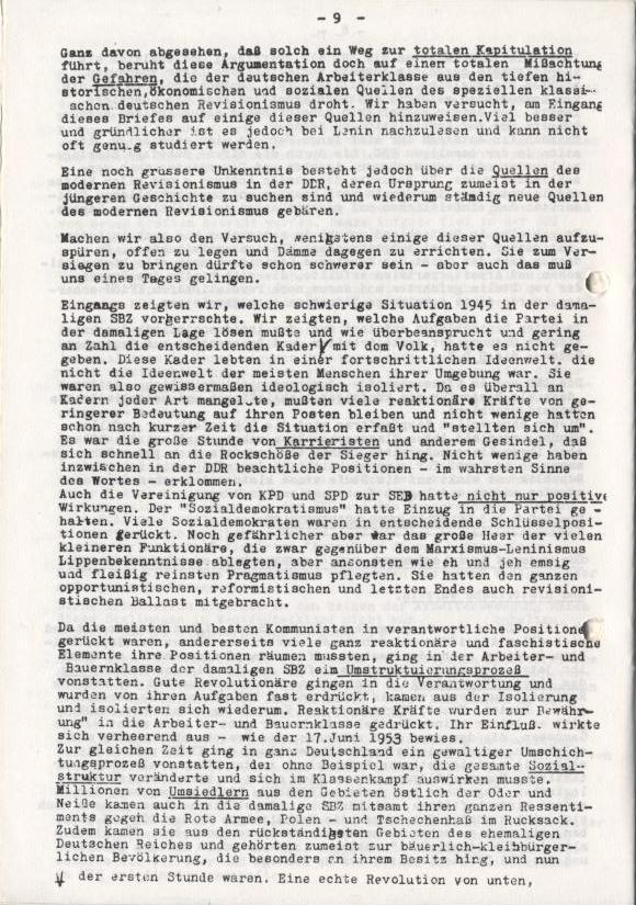 Spartacus_Brief, Nr. 2/3, Sept./Okt. 1967, Seite 9