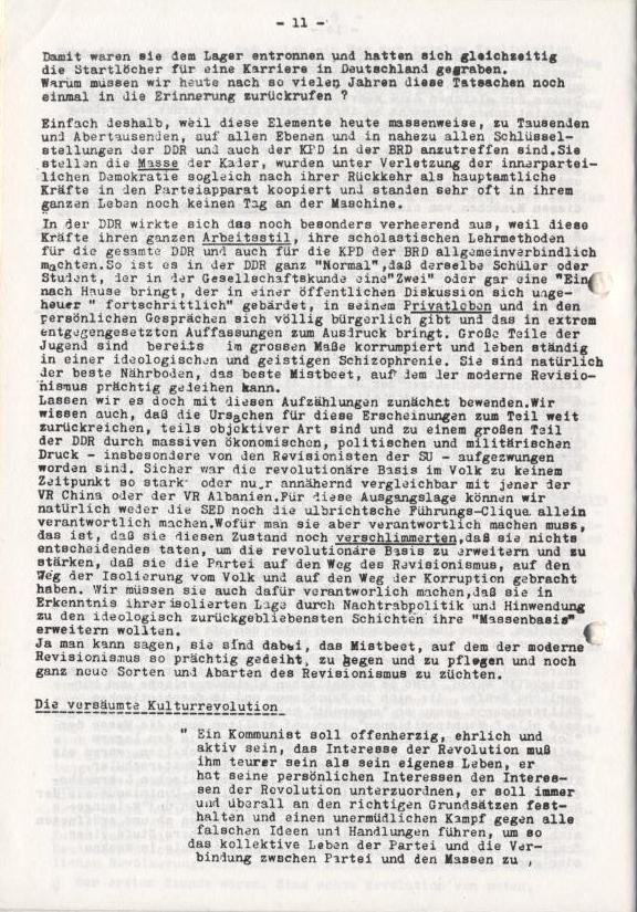 Spartacus_Brief, Nr. 2/3, Sept./Okt. 1967, Seite 11