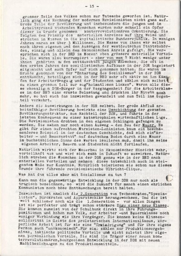 Spartacus_Brief, Nr. 2/3, Sept./Okt. 1967, Seite 15