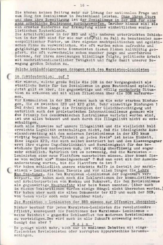 Spartacus_Brief, Nr. 2/3, Sept./Okt. 1967, Seite 16