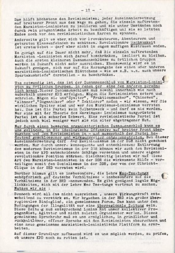 Spartacus_Brief, Nr. 2/3, Sept./Okt. 1967, Seite 17