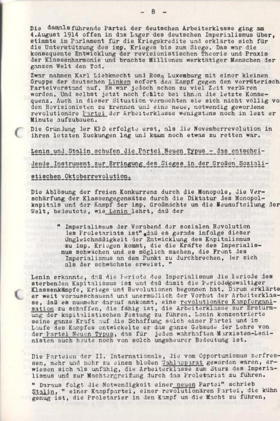 Spartacus_Brief, 4/5, Nov./Dez. 1967, Seite 8