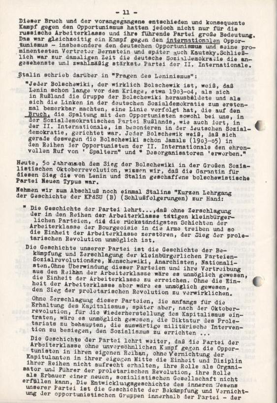 Spartacus_Brief, 4/5, Nov./Dez. 1967, Seite 11