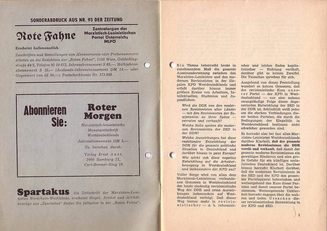 MLPÖ: Spartakusbrief, Sept./Okt.1967, Scan 2
