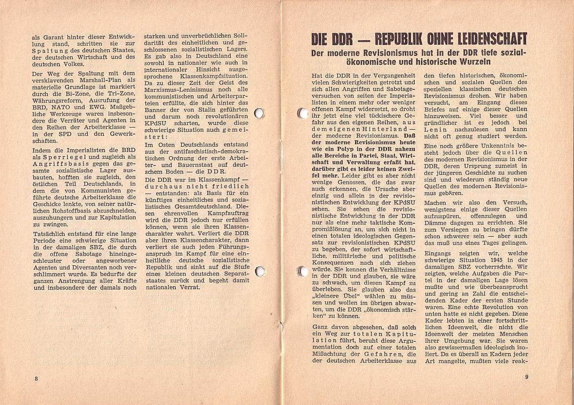 MLPÖ: Spartakusbrief, Sept./Okt.1967, Scan 6