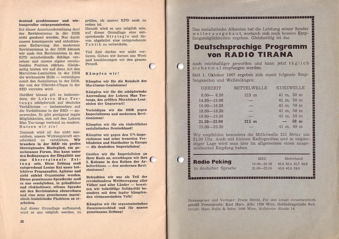 MLPÖ: Spartakusbrief, Sept./Okt.1967, Seite 12