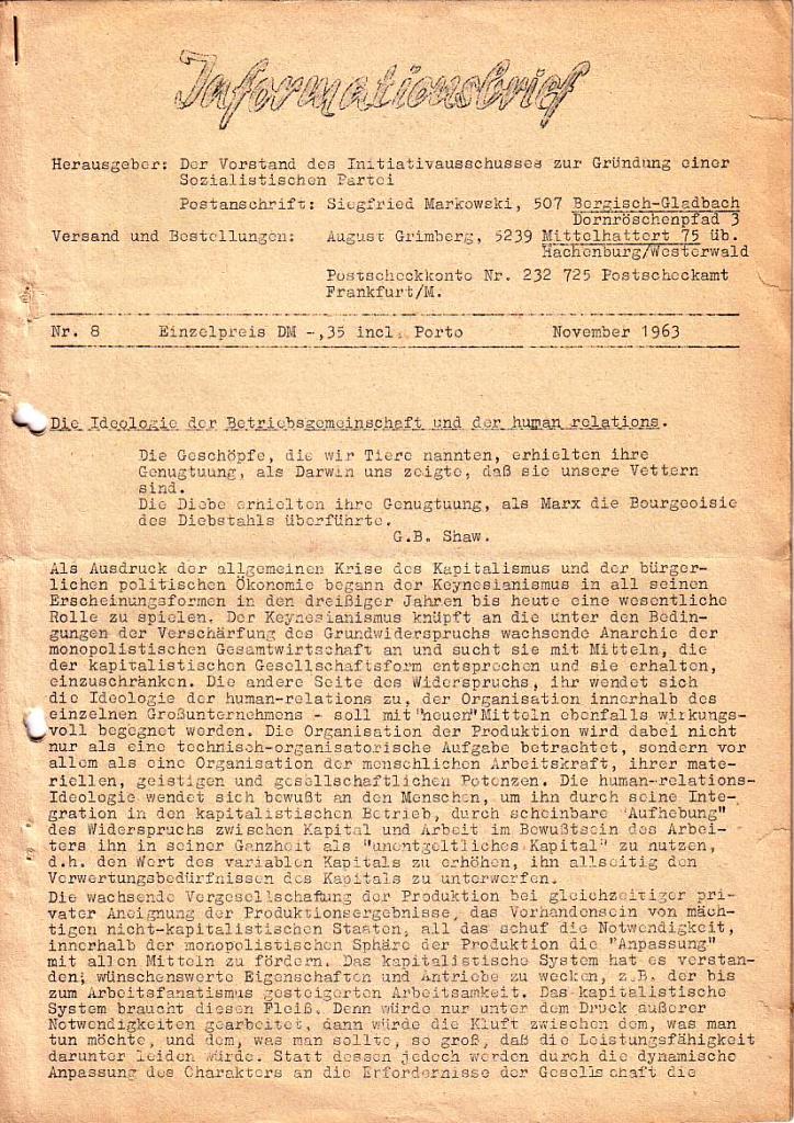 Informationsbrief_1963_08_01