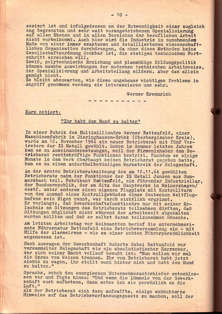 Informationsbrief_1965_24_10