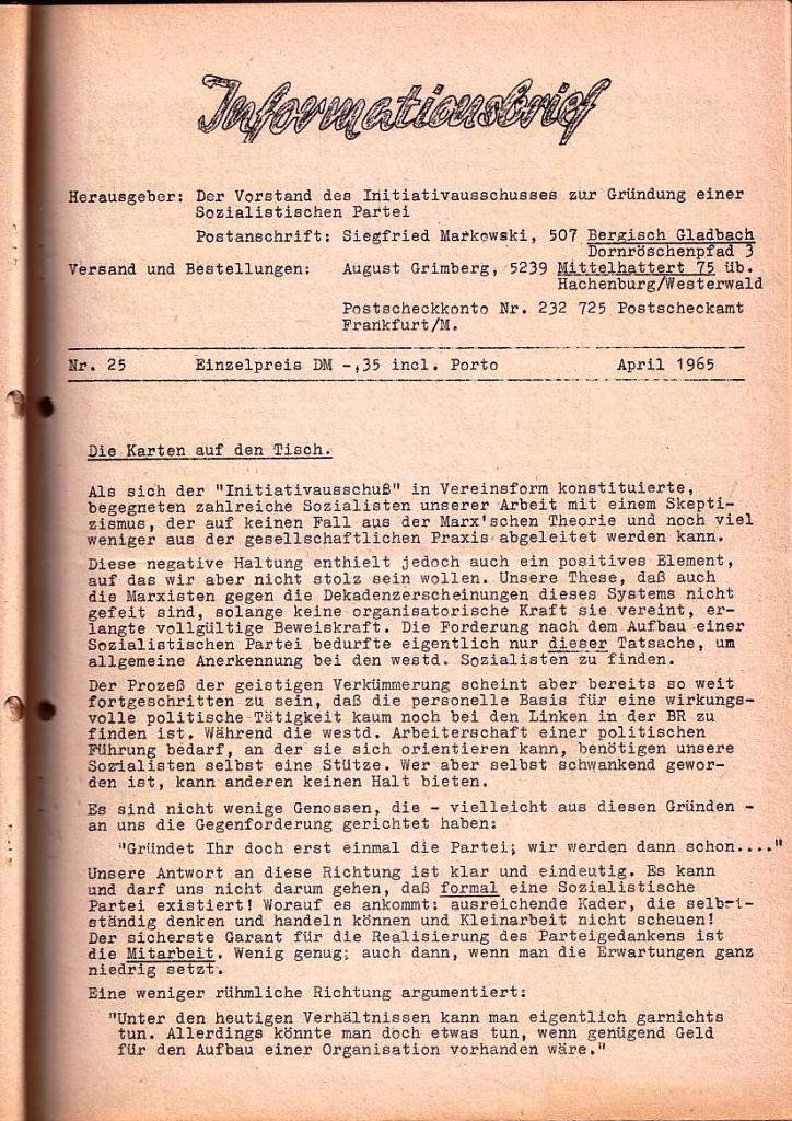 Informationsbrief_1965_25_01