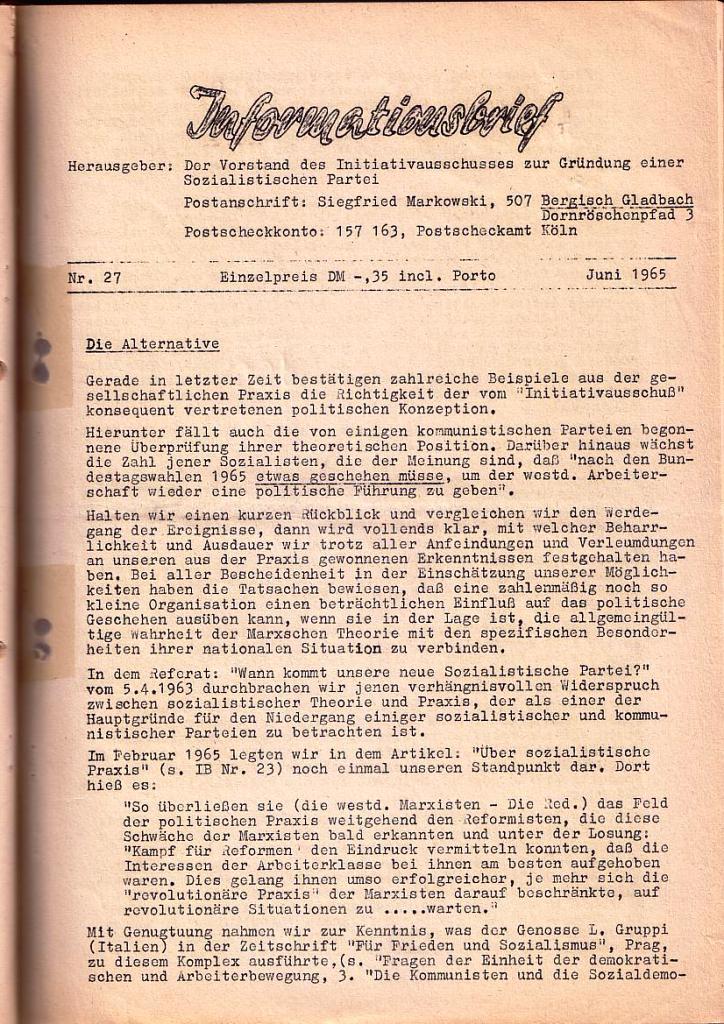 Informationsbrief_1965_27_01