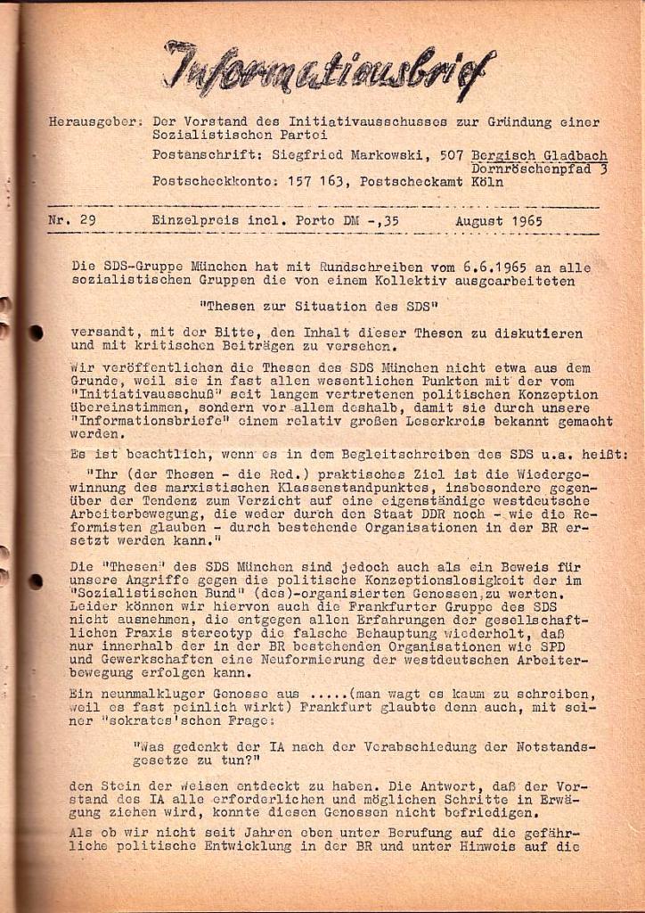 Informationsbrief_1965_29_01