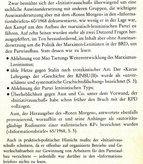 Geschichte der MLPD, I. Teil, S. 24f.