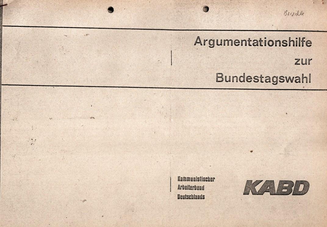 KABD_1976_Argumentationshilfe_Bundestagswahl_001