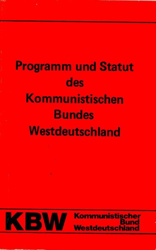 KBW_1975_Programm_und_Statut_01